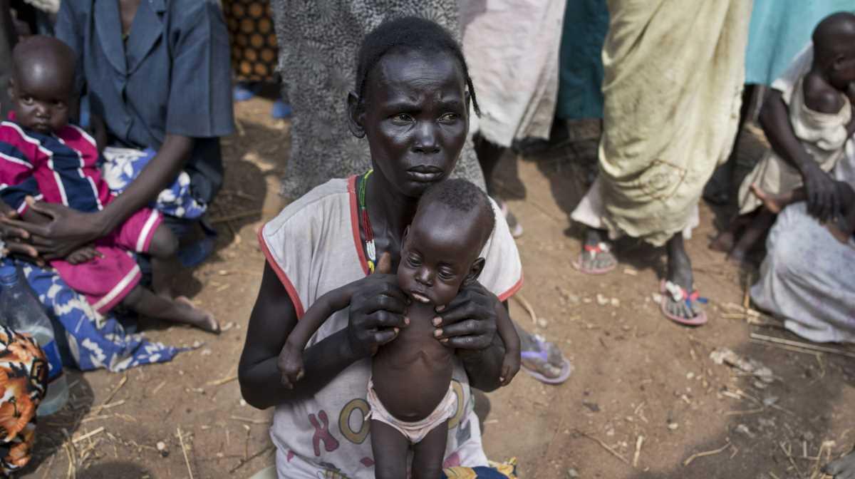 South Sudan hunger