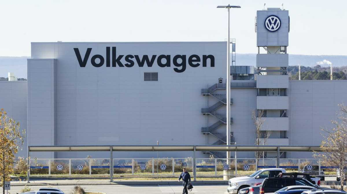 Volkswagen's plant in Chattanooga, Tennessee