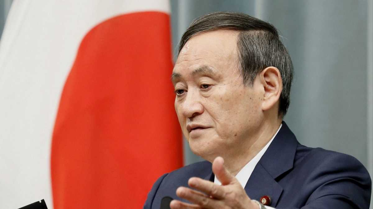 Chief Cabinet Secretary Yoshihide Suga