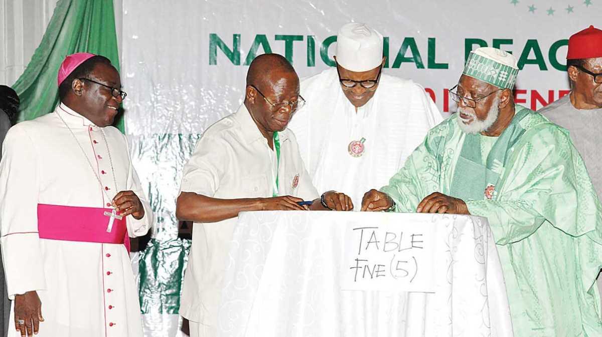 President Muhammadu Buhari inked the deal