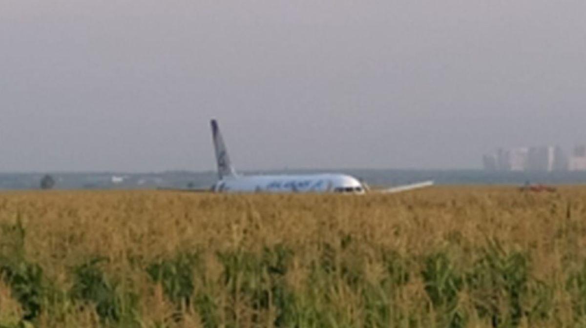 Crimea-bound Airbus