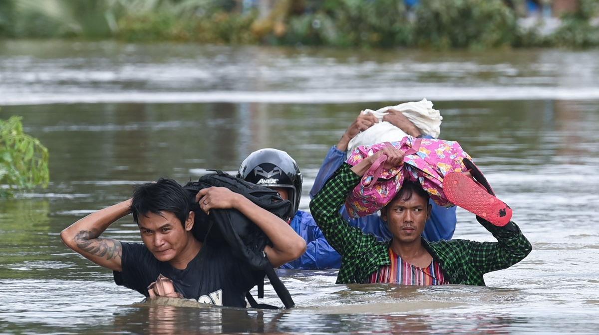 Myanmar flood