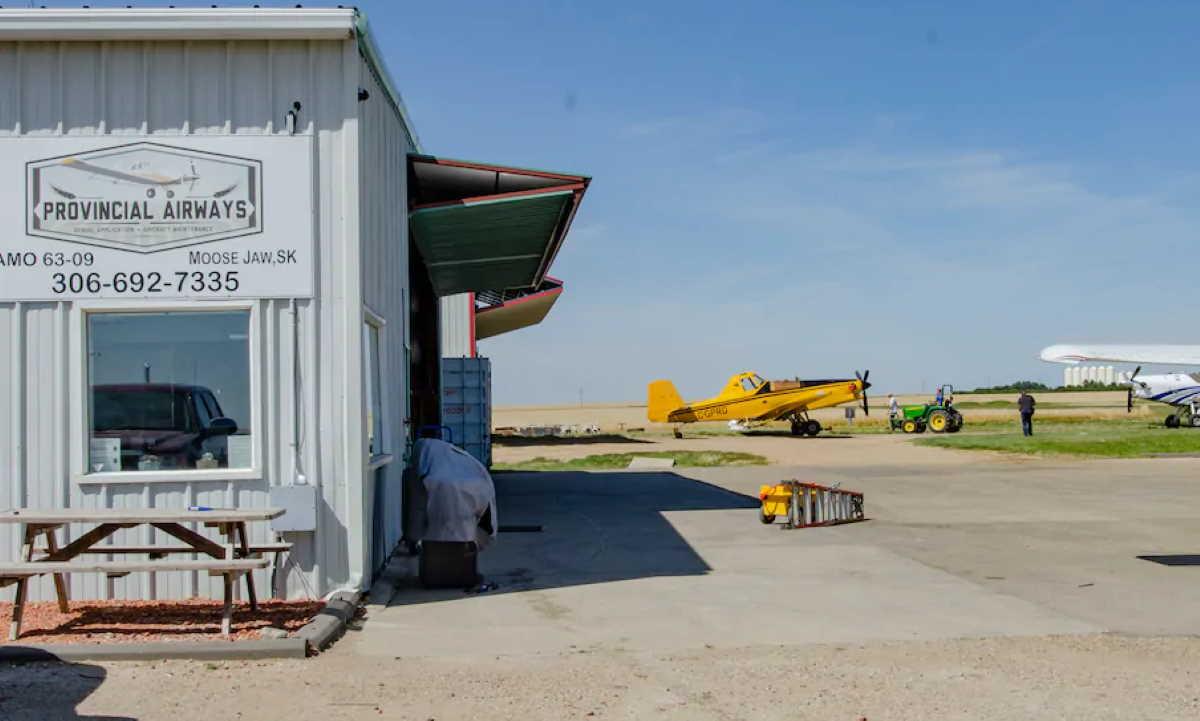 Moose Jaw Municipal Airport