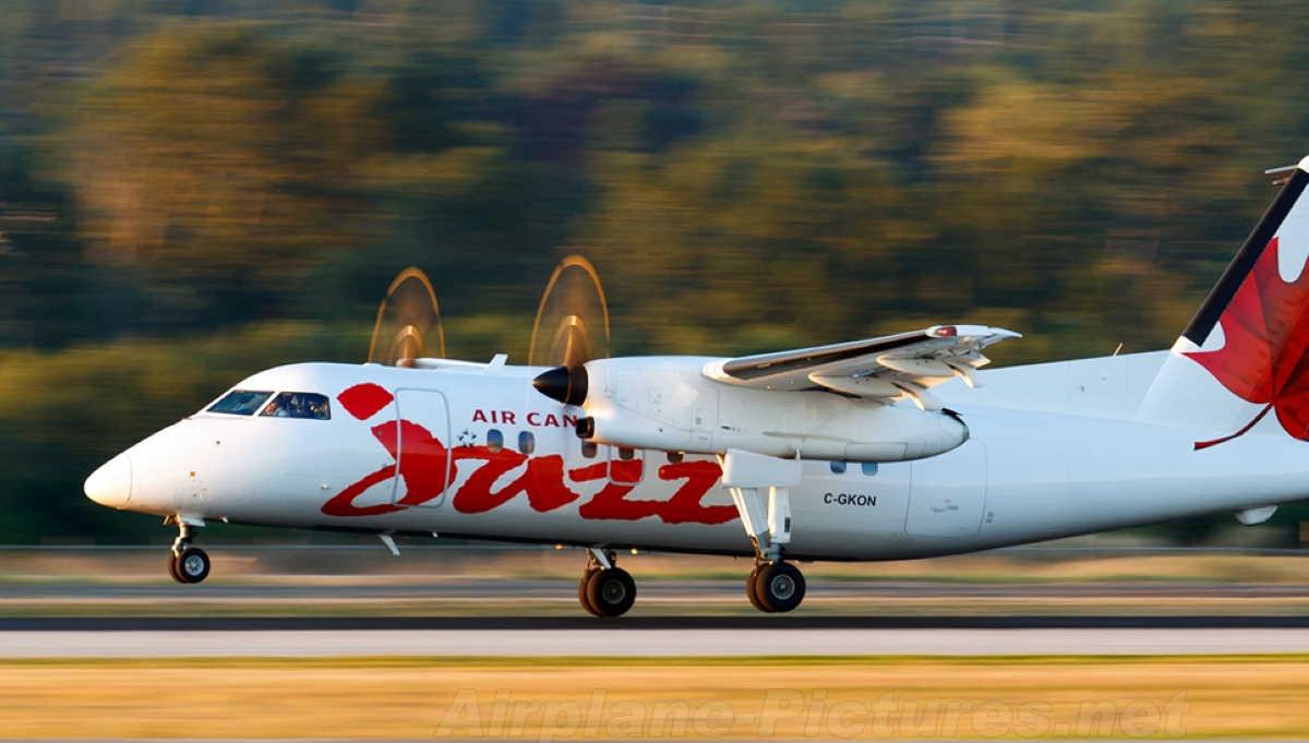 Air Canada Dash 8-100