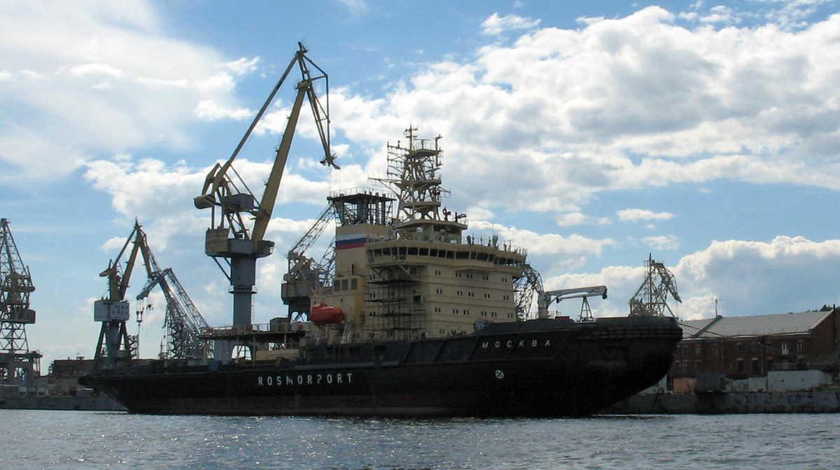 Baltic shipyard Yantar
