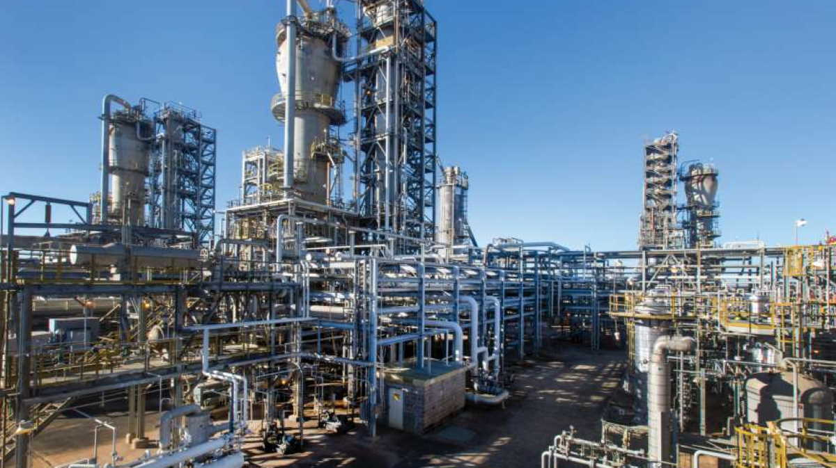 Beaumont, Tx. chemical plant