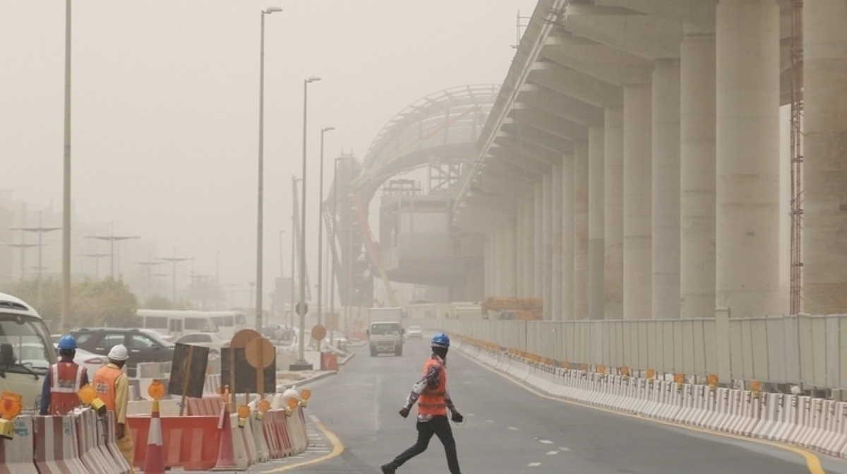Emirate rain