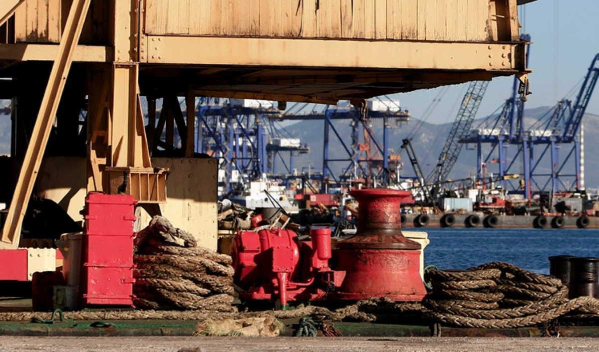 Greek port Perama