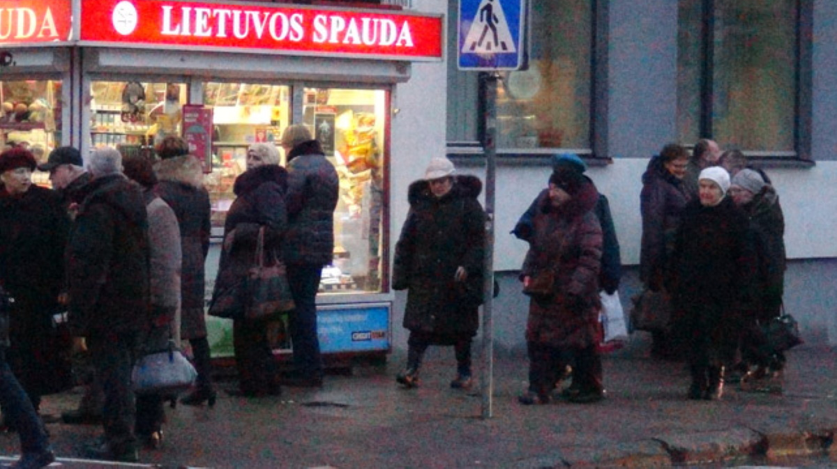 Lithuania older people