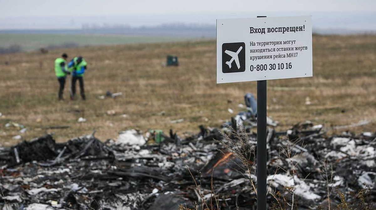 Malaysian Boeing 777 crash in Ukraine