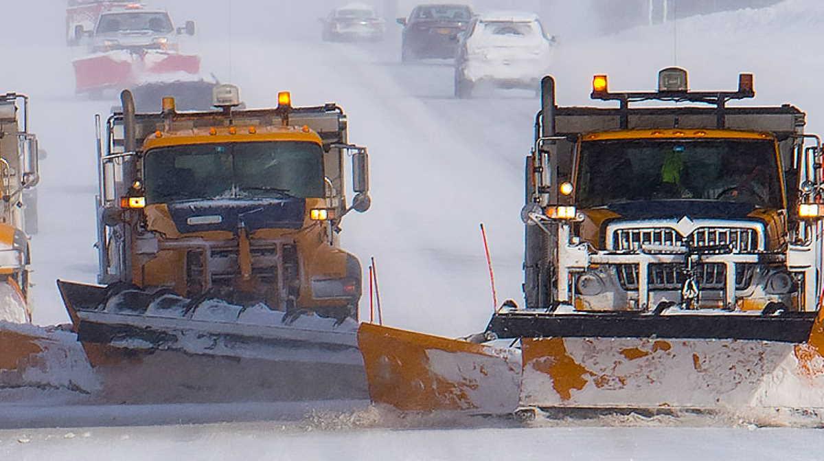 New York snow plow