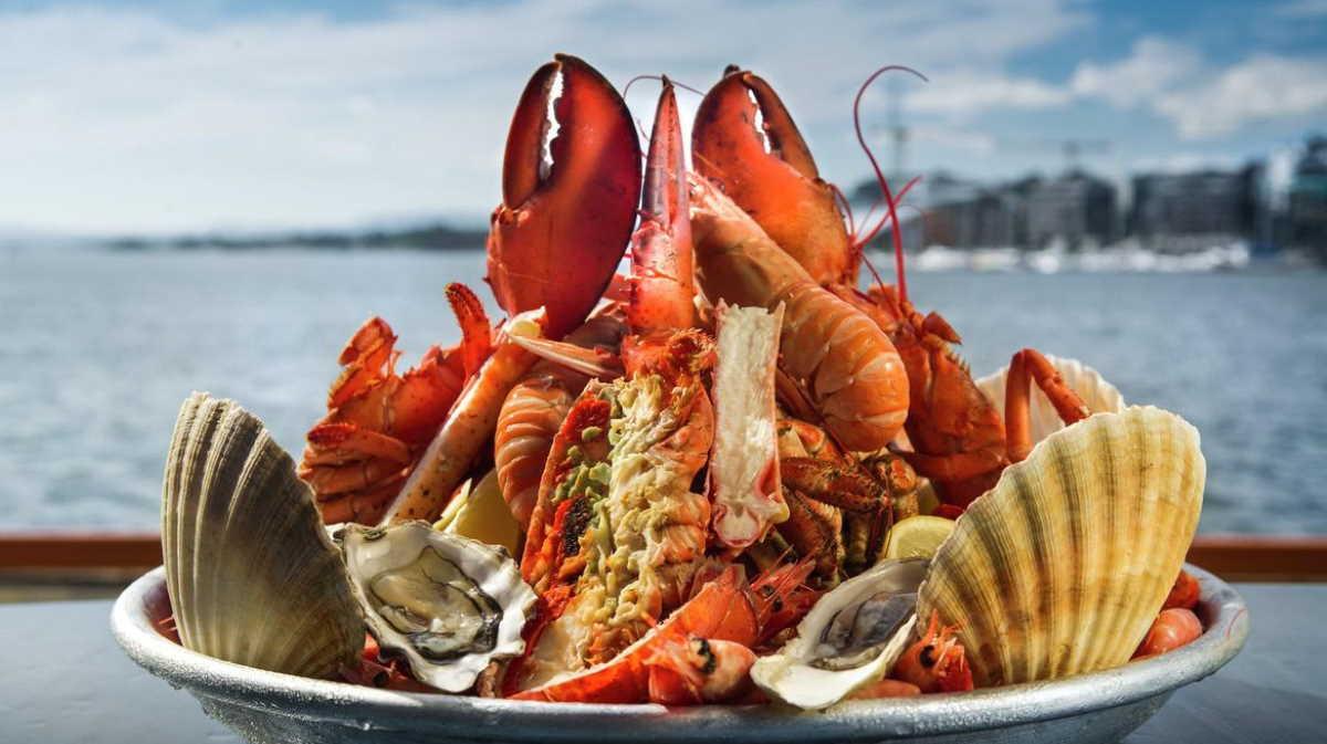 Norwegian seafood