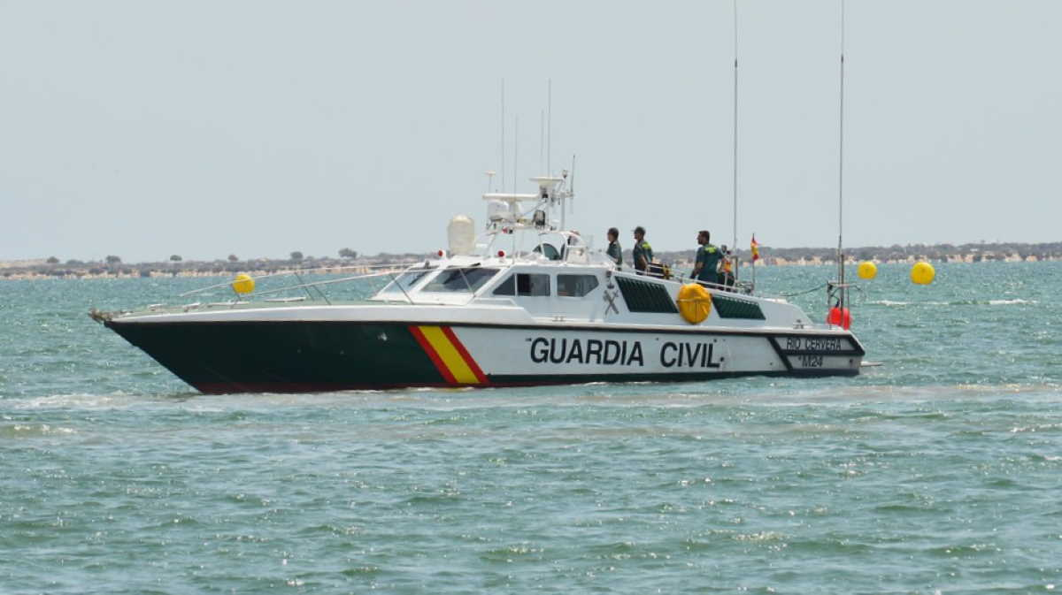 Spanish police yacht