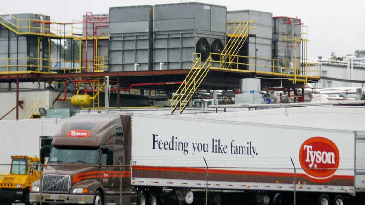 Tyson Foods plant