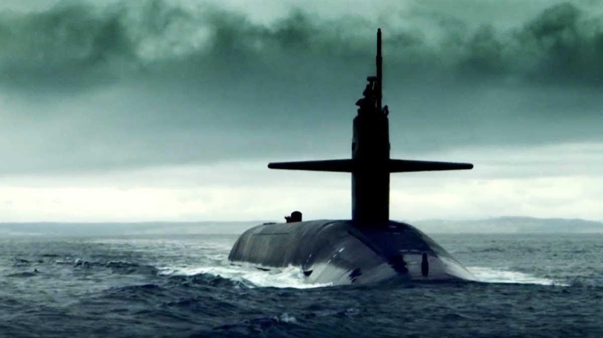 U.S. Navy submarine