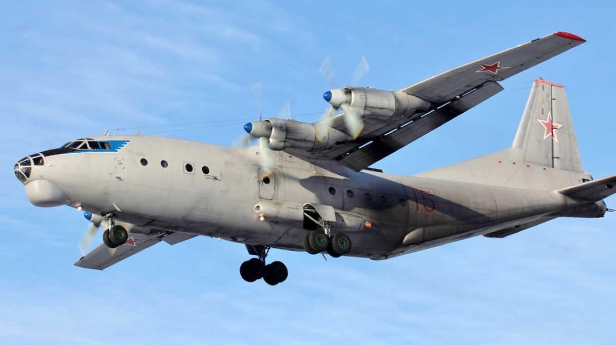 Ukrainian Antonov-12