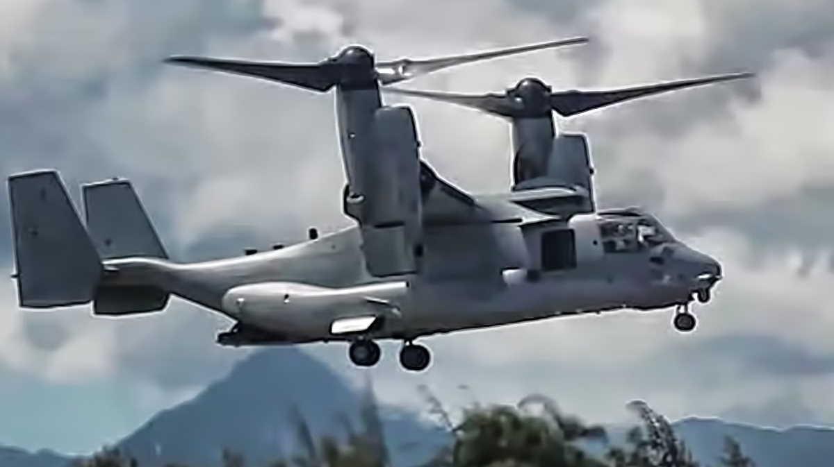 V-22 aircraft