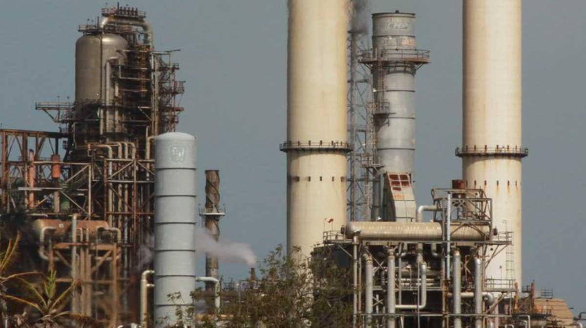 Cardon oil refinery
