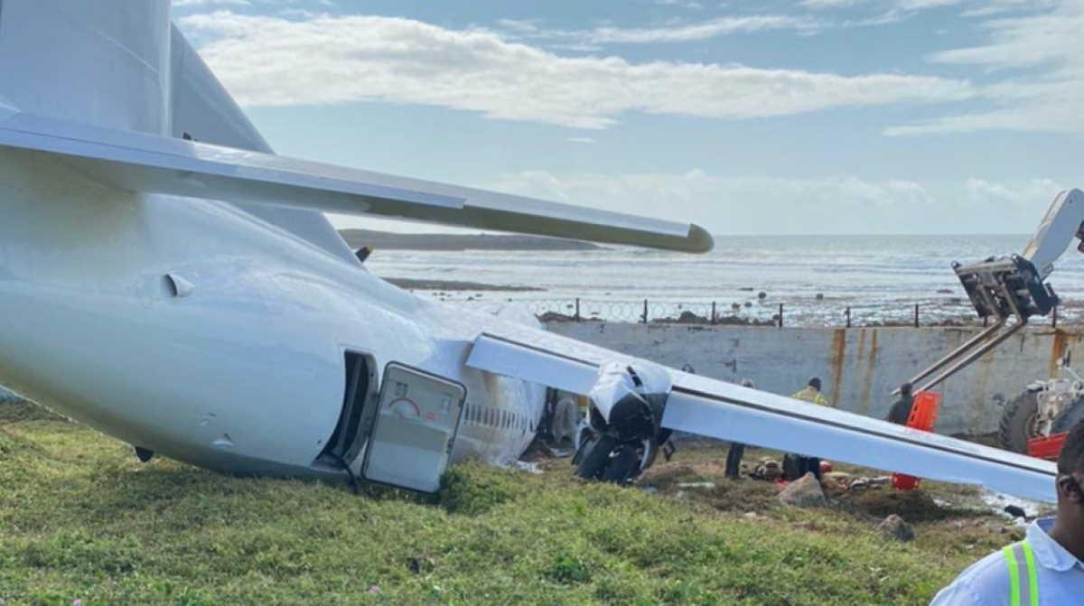 Kenyan cargo plane crashes