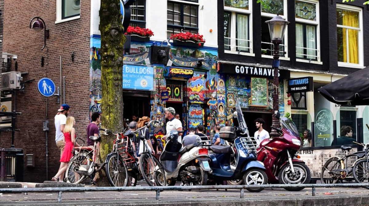 Netherlands street shop
