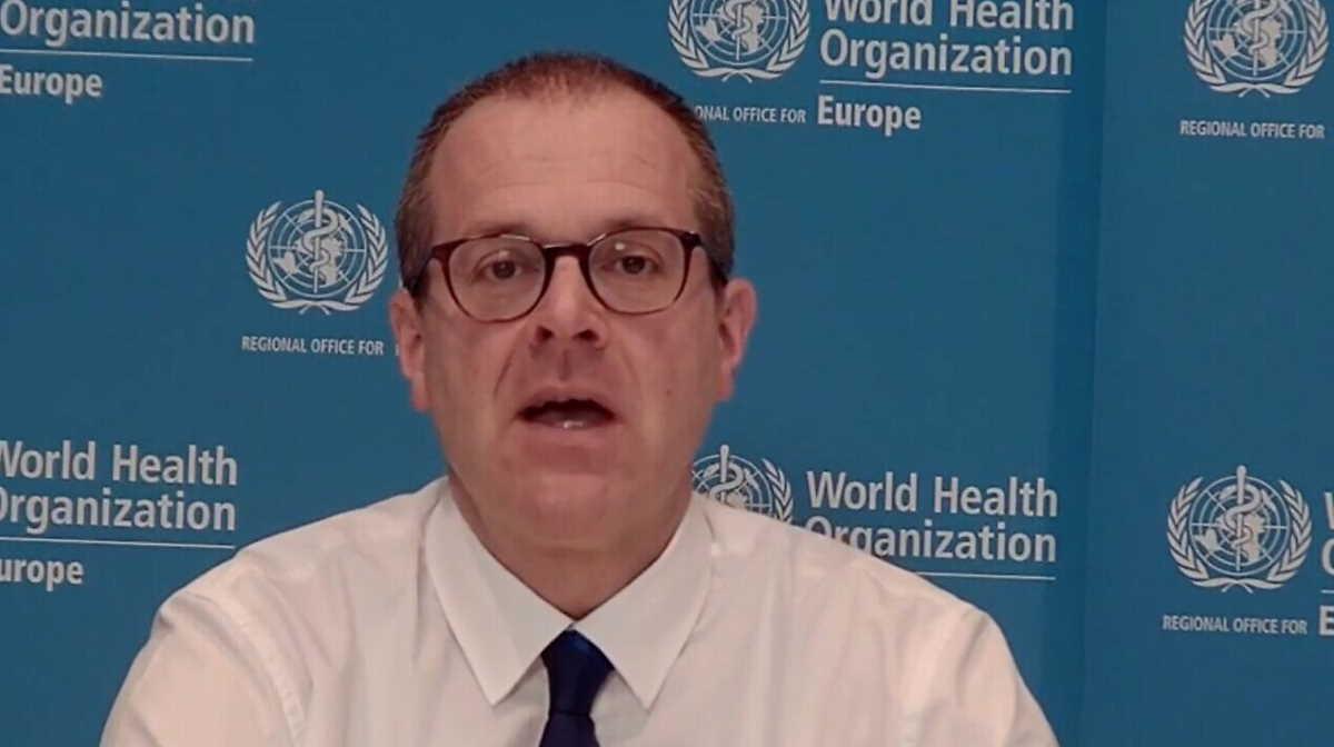 WHO regional director Hans Kluge