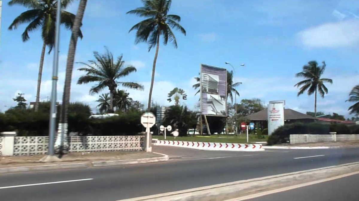 Gabon highway
