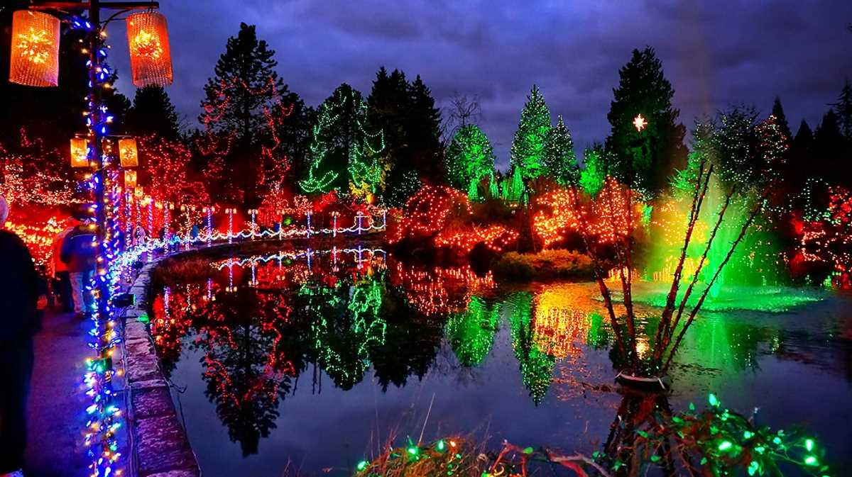 Festival of Lights, VanDusen