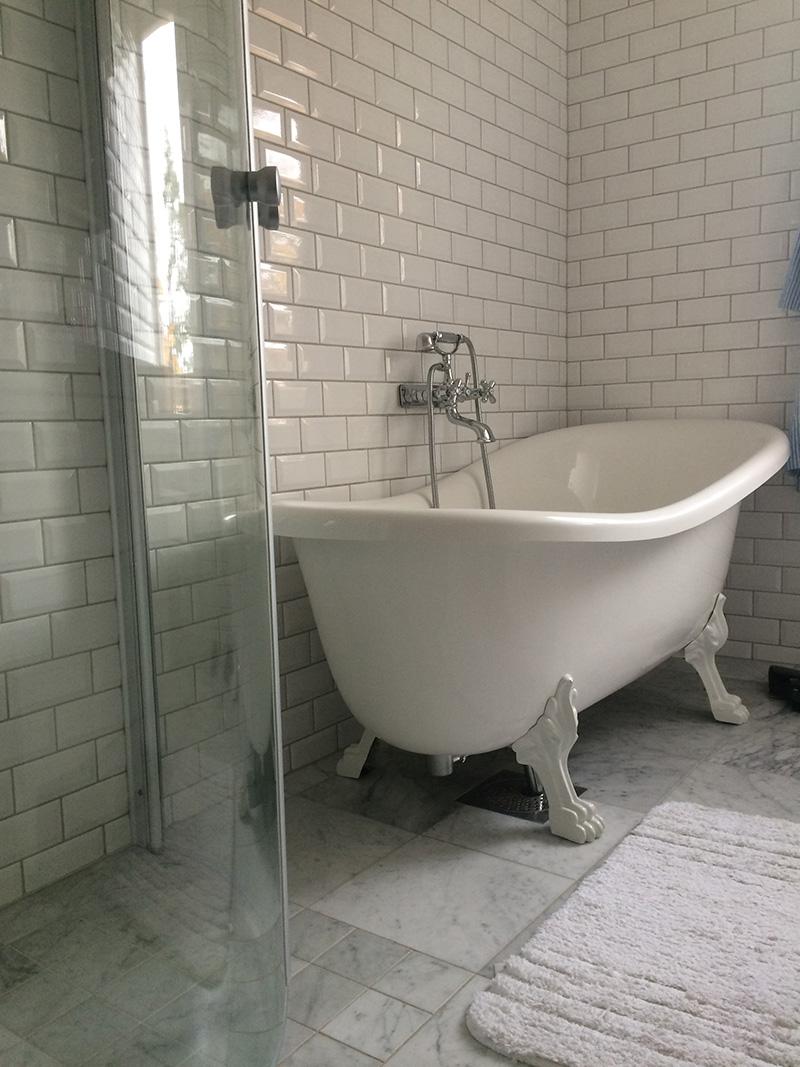 Claes från bromma er mycket nöjd med badrumsrenovering resultatet