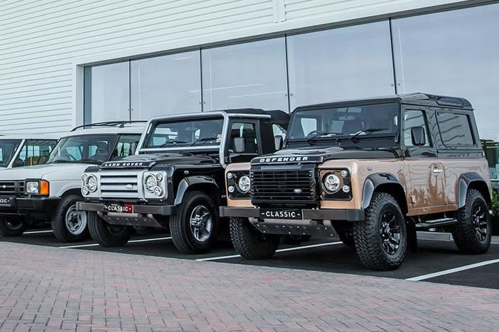 Jaguar Land Rover Experience - Classic Works at Oxford Road