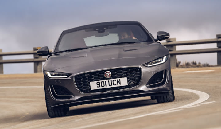 Jaguar Ultimate Tour and Track experience - F-TYPE on Fen End track