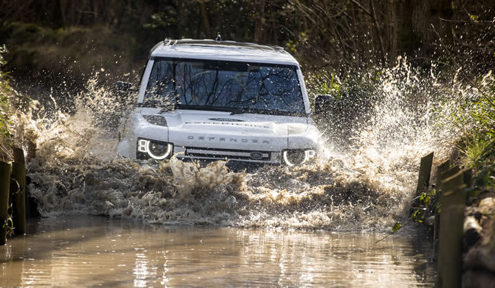 Full Day Experience at Eastnor in a Land Rover Defender