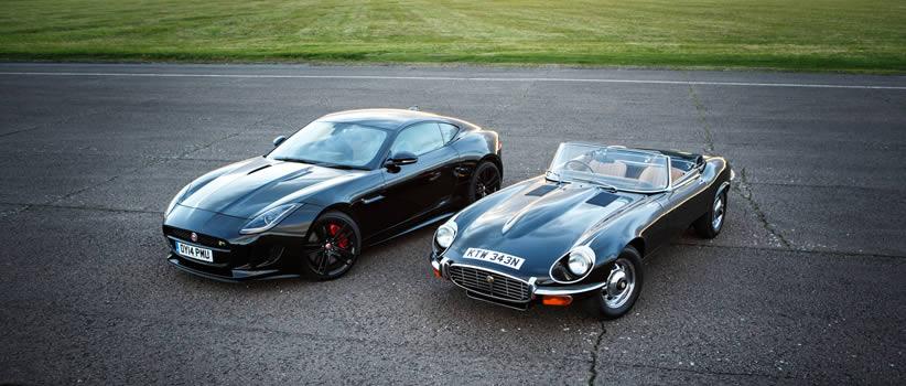 Jaguar Classic E Type F TYPE Experience