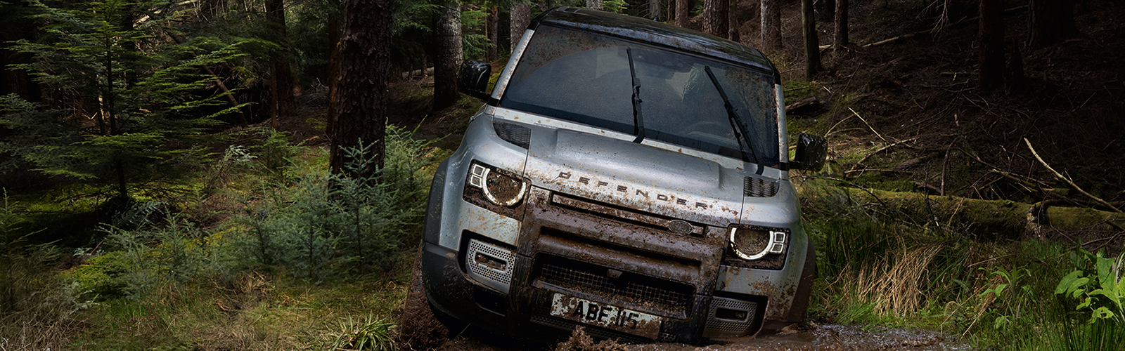 <br>A LAND ROVER OFF-ROAD DRIVING EXPERIENCE.