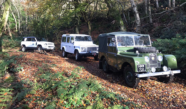 West Country Land Rover Heritage Drive Experience