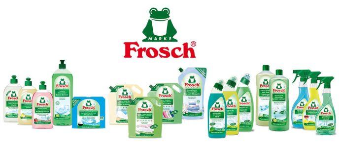 Frosch ecologische producten Het hele Froschssortimenthier te verkrijgen.Deze producten kunnen betaald worden met ecocheques