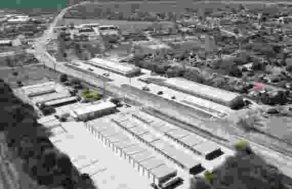 Facility drone youtube video