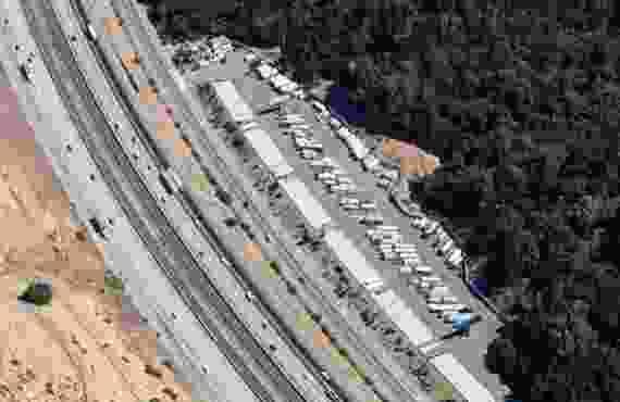 Aerial Image Of Lockaway Storage Castro Valley - Castro Valley, CA