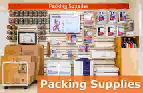 Packing supplies at Jack Rabbit Storage at 4293 Holland Road, Virginia Beach, VA