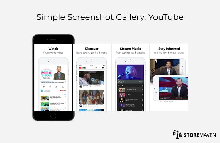 Simple Screenshot Gallery: YouTube