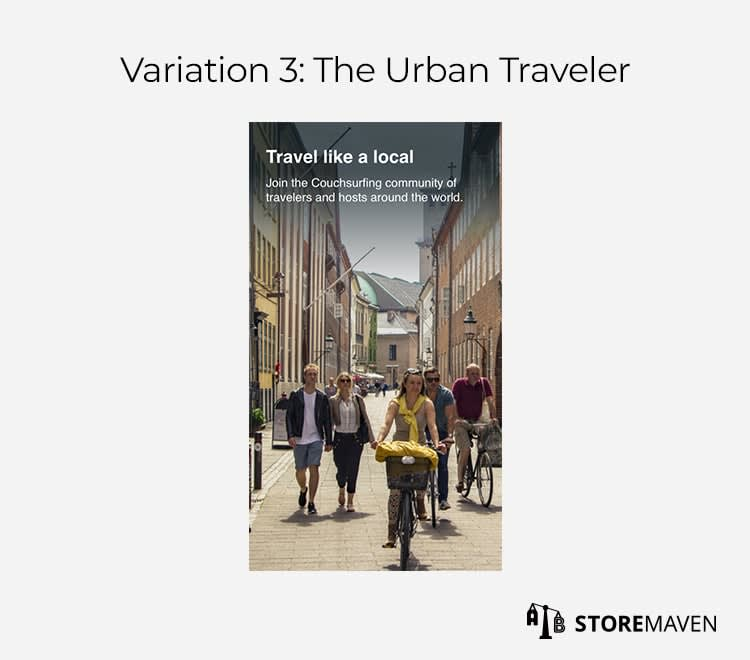 Variation 3: The Urban Traveler