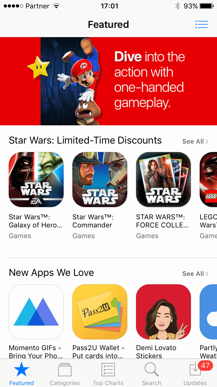 Apple App Store Redesign