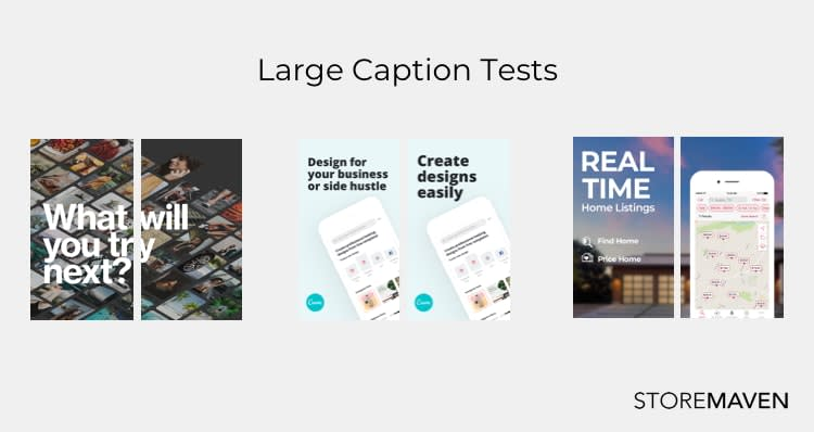 Large Caption Test