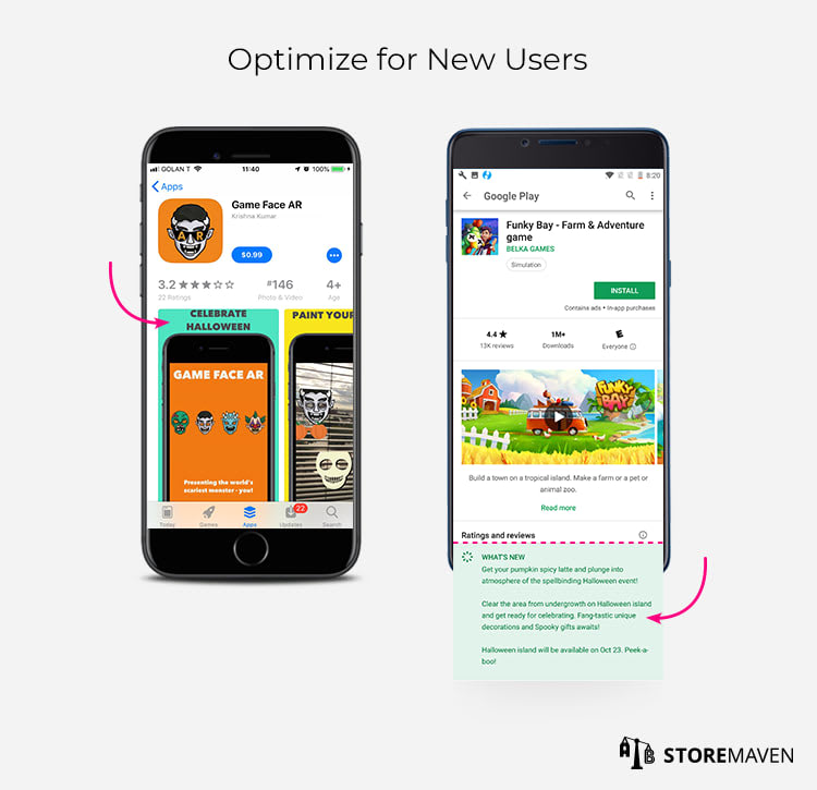 Optimize for New Users