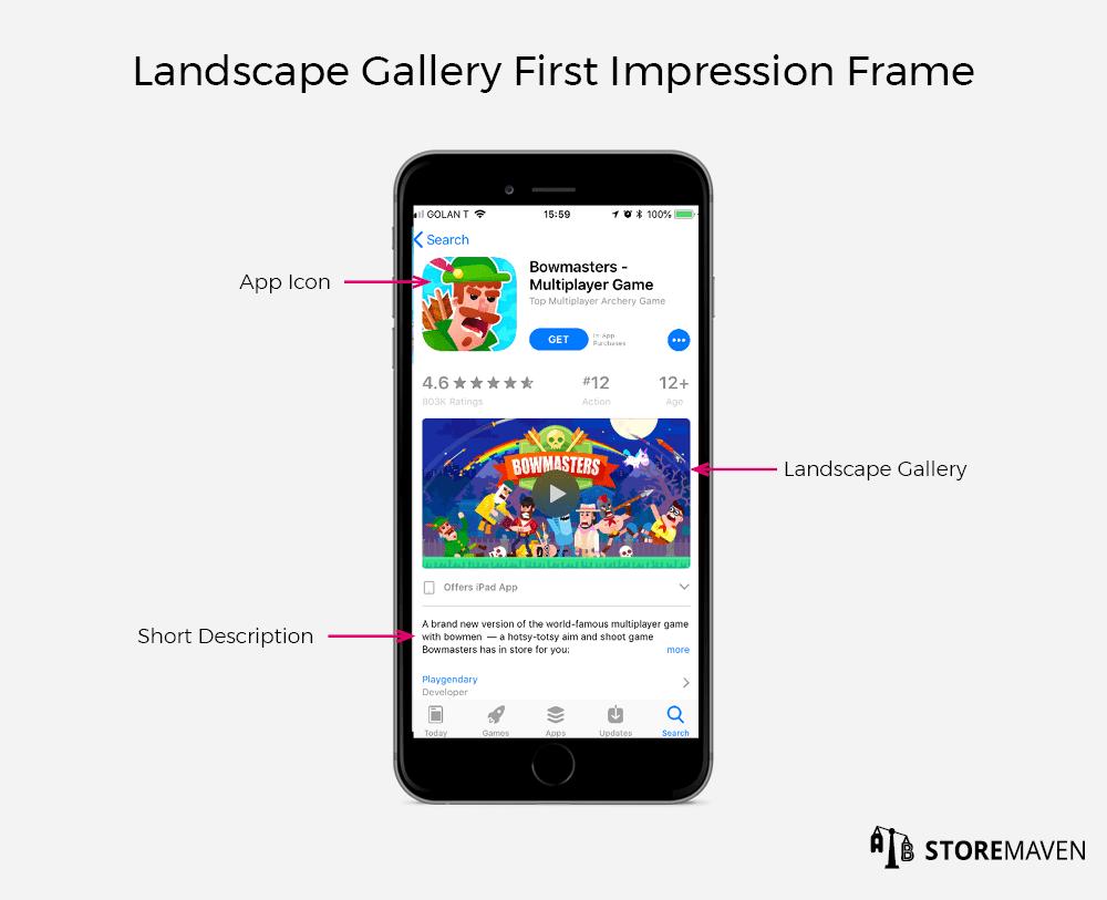 Landscape Gallery First Impression Frame