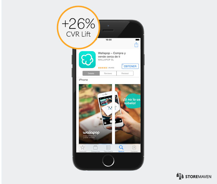 How Wallapop Increased App Install Conversion Rates by More Than 26% - 6