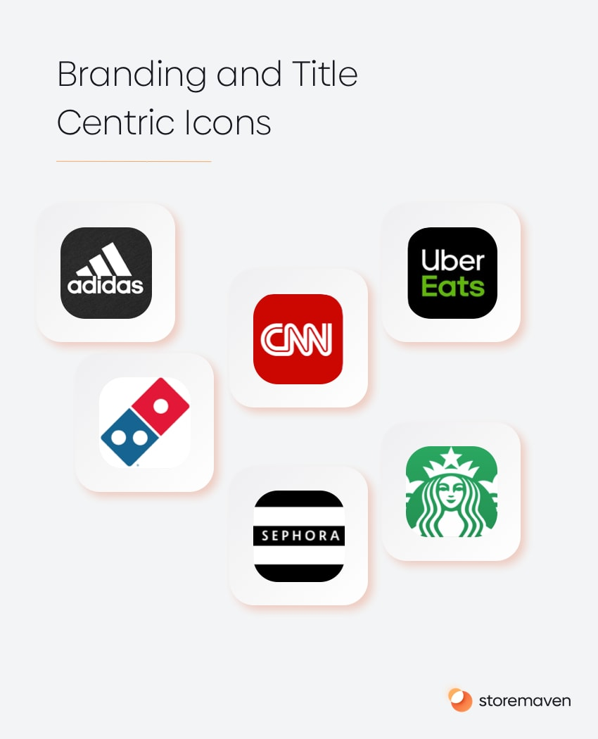 ABranding and Title Centric app Icons