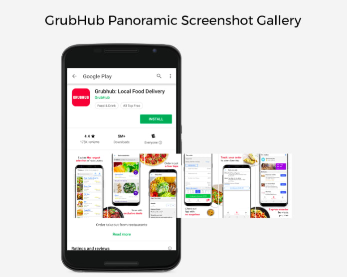How to Design a Panoramic Screenshot Gallery on the Google Play Store - 3
