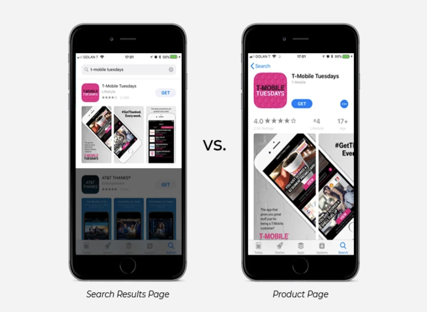 How to Design a Panoramic Screenshot Gallery on Apple App Store - 5