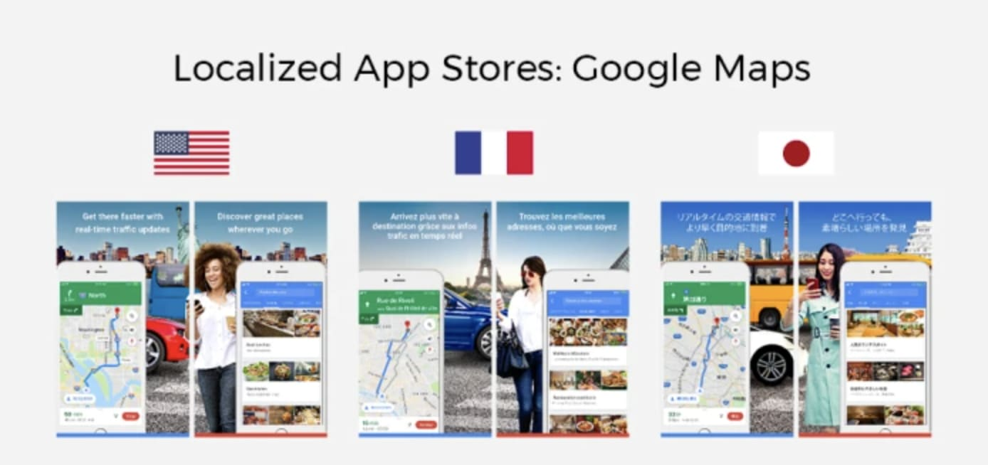 Localized App Stores