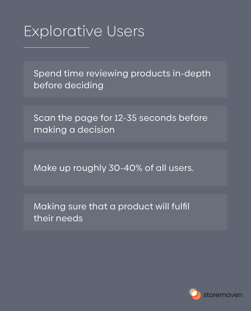Explorative Users